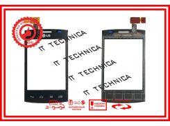 Тачскрин LG E410  Optimus L1x II Черный ОРИГИНАЛ