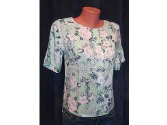 Блуза с удлиненной спинкой Вера