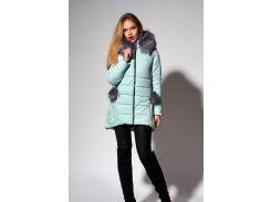 Зимняя женская молодежная куртка Леся