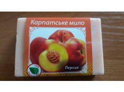 Карпатське мило - персик