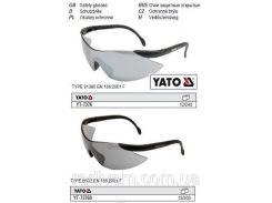 YATO Окуляри захисні відкриті затемнені