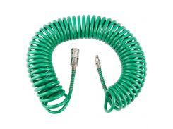 Шланг спиральный полиуретановый (PU) 10м 5.5×8мм Refine (7012071)
