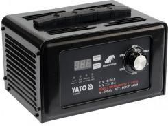 YATO Пуско-зарядний пристрій до акумул-в 12\24В, ємн. 50-600 Агод;V= 230 В,10/30А(12В),7,5/15 А(24В)