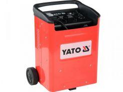 YATO Пуско-зарядний пристрій для акумуляторів, 12/24 В, 40-240 А, 20-600 Агод, 230 В