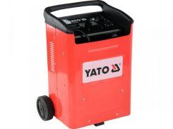 YATO Пуско-зарядний пристрій для акумуляторів, 12/24 В, 60-540 А, 20-800 Агод, 230 В