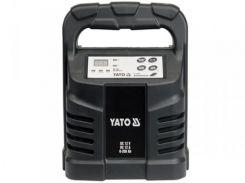 YATO Зарядний прилад  12V, 12А, 6-200Ah