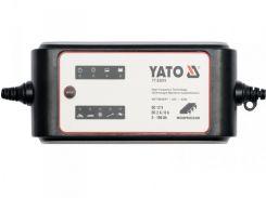 YATO Зарядний прилад електронний ел./мереж.- 230 В  для акумуляторів 12 В, 2/8 А, 5-160 A х год