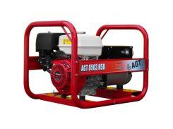 AGT 8503 HSBE R26  Генератор 8.0 кВА/5.0 кВА/ Honda GX390, 9,6кВт/13к,с, 389 см3; 26л, 89 кг