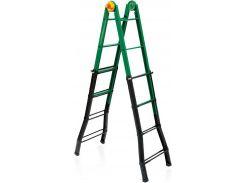 Лестница четырехсекционная металлическая бытовая ELKOP B 45