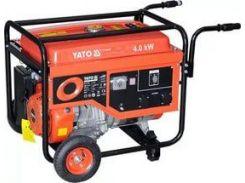 YATO Генератор бензиновий , 4.0 кВт, бак 25л.