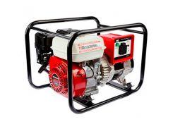 Генератор SGA3001Ha 2,2 кВа, Honda GX160, 4,04 кВт/5,5 к.с., бак 3, 6 л, вага 35 кг.