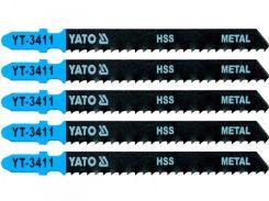 YATO Полотно для електролобзика(метал), 32TPI, l=75мм, набір 5пр.