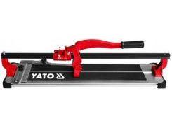 YATO Плиткоріз ручний з ковзаючим повзунком і 1-ю направляючою, l= 80 cм