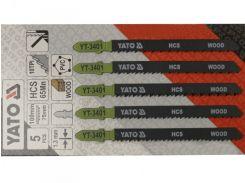 YATO Полотно для електролобзика(дерево-пластик) , l=100мм