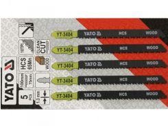 YATO Полотно для электролобзика(дерево) , l=100мм, 10TPI набір 5пр.
