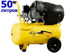 DENZEL Компрессор воздушный PC 2/50-350,  2,2 кВт, 350 л/мин, 50 л