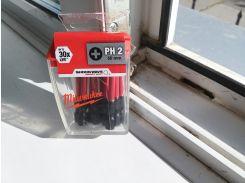 Набор бит Milwaukee Shockwave 4932430855 PH2 50 мм 10 шт.