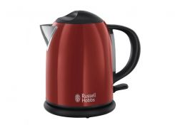 Електрочайник (диск, метал) Russell Hobbs 20191-70 Colours Flame Red