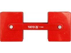 YATO Магніт регулювання зварки кута  85х65х22мм, 2x22,5кг