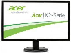 21,5''TFT, ACER K222HQLBD (5ms, DVI, VGA) Black