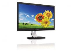 23''TFT, PHILIPS 231P4QPYEB/00 LED IPS (14ms, VGA, DVI, DP, колонки) Black