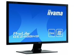 24''TFT, IIYAMA GE2488HS-B1 Gaming LED IPS (1ms, VGA, DVI, HDMI, колонки) Black
