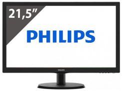 21,5''TFT, PHILIPS 223V5LHSB/00 LED (5ms, VGA, HDMI) Black