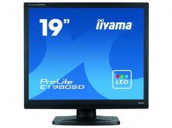 19''TFT, IIYAMA E1980SD-B1 LED (5ms, VGA, DVI, колонки) Black