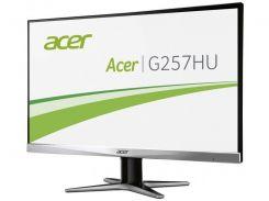 25''TFT, ACER G257HUsmidpx LED IPS (4MS, VGA, DVI, HDMI) Silver