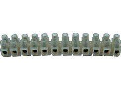 S016001 Клеммная колодка делимая, 12 групп 4 мм² 3 А