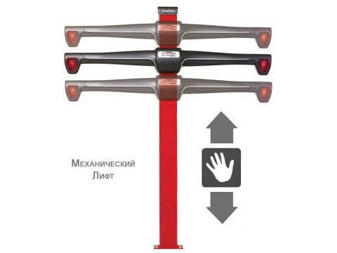 Комплект для установки механического лифта на стойку 3-D стенда РУУК Харьков