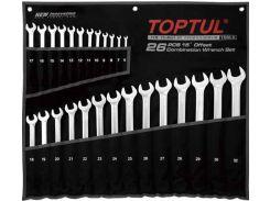 Набор ключей комбинированных 26 шт. 6-32мм удлиненных TOPTUL GPAA2602