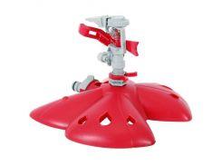 Дождеватель пульсирующий с полной/частичной зоной полива на базе, круг/сектор полива до 12м, PP, ABS