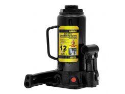 Домкрат гидравлический бутылочный 12т H 230-465мм sigma 6101121