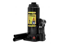 Домкрат гидравлический бутылочный 5т H 216-413мм (кейс) sigma 6102051