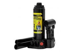 Домкрат гидравлический бутылочный 2т H 181-345мм (кейс) sigma 6102021