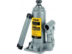 Домкрат гидравлический бутылочный mid 3т H 180-350мм sigma 6105031