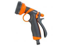 Пистолет распылитель 8-ми режимный (ABS+TPR) FLORA 5011354