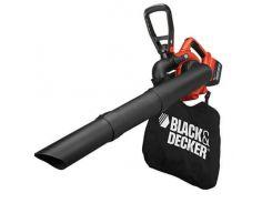 Аккумуляторный садовый пилесос BLACK+DECKER,Li-lon 36В,2Ач,поток воздуха 218 км/ч,измельчитель,1,6кг, шт