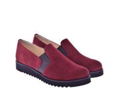 Женские туфли For Style 1005бордоз