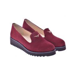 Женские туфли For Style 1008бордоз