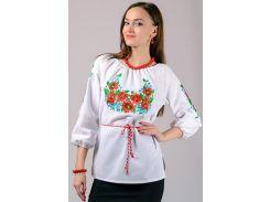 Вышиванка женская блуза LS-13