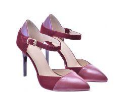 Женские туфли For Style 1002бордокз
