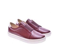 Женские туфли For Style 1022бордо