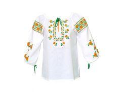 Вышиванка женская рубашка (двойная вышивка) LV-109
