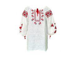 Вышиванка женская рубашка (двойная вышивка) LV-108