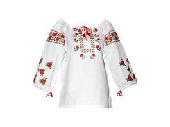 Вышиванка женская рубашка (двойная вышивка) LV-107