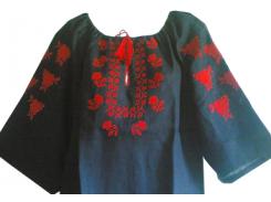 Вышиванка женская рубашка LV-104