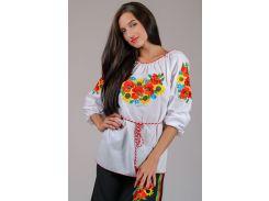 Вышиванка женская блуза LS-9