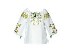 Вышиванка женская рубашка (двойная вышивка) LV-110